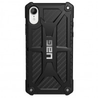 UAG Monarch iPhone XR Hoes Carbon Zwart 01