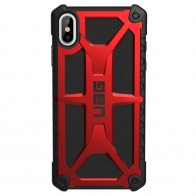 UAG Monarch iPhone XS Max Crimson Red 01