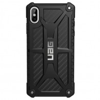 UAG Monarch iPhone XS Max Carbon Zwart 01