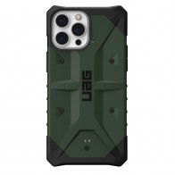 UAG Pathfinder iPhone 13 Pro Max Olijfgroen - 1