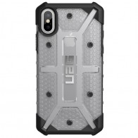 UAG - Plasma iPhone X Hoesje Ice Clear 01
