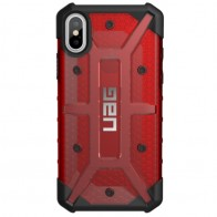 UAG - Plasma iPhone X Case Magma Red 01