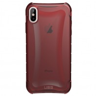 UAG Plyo iPhone XS Max Hoesje Crimson Red 01