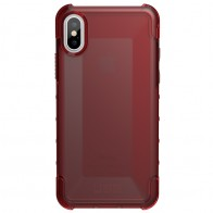 UAG Plyo iPhone X Hard Case Crimson Red 01