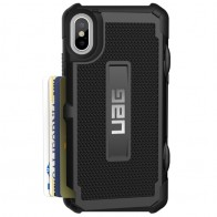 UAG - Trooper iPhone X Hoesje Black 01