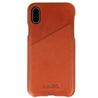 Valenta Back Cover Classic Luxe iPhone X Brown - 1