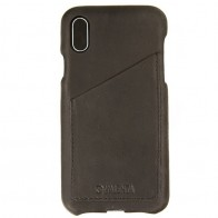 Valenta Back Cover Classic Luxe iPhone X Vintage Black - 1