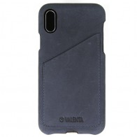 Valenta Back Cover Classic Luxe iPhone X Vintage Blue - 1