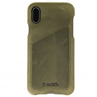 Valenta Back Cover Classic Luxe iPhone X Vintage Green - 1