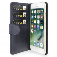 Valenta Book Cover Classic Luxe iPhone 7 Vintage Blue - 1