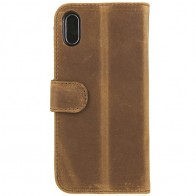 Valenta Booklet Classic Luxe iPhone X/Xs Vintage Brown - 1