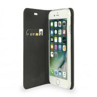 Valenta Book Cover Classic Style iPhone 7 Croco Black - 1