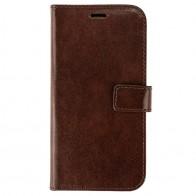 Valenta Booklet Leather Gel Skin iPhone XR Bruin 01