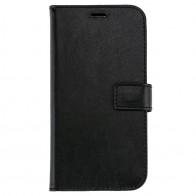 Valenta Booklet Leather Gel Skin iPhone XR Zwart 01