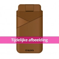 Valenta Pocket Classic Premium iPhone X Brown - 1