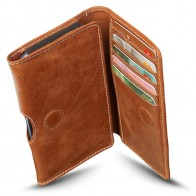 DBramante Leather Wallet iPhone SE/5S/5 4.3 inch Golden Tan - 1