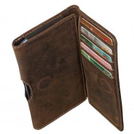 DBramante Leather Wallet iPhone SE/5S/5 4.3 inch Hunter - 1