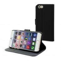 Muvit Wallet Folio iPhone 6 Black - 1