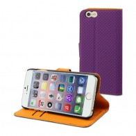 Muvit Wallet Case iPhone 6 Plus Purple - 1