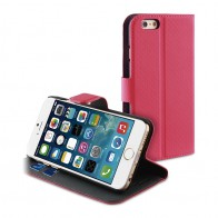 Muvit Wallet Case iPhone 6 Plus Pink - 1