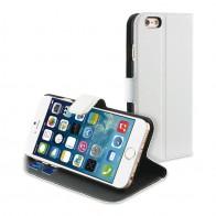 Muvit Wallet Folio iPhone 6 White - 1