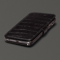 Sena  Wallet Book Classic iPhone 6/6S Croco Black - 1