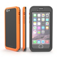 Dog and Bone Wetsuit Impact iPhone 6/6S Electric Orange - 1