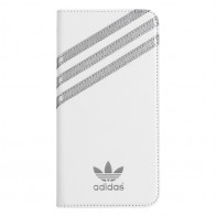 Adidas Booklet Case iPhone 6 Plus White/Silver - 1