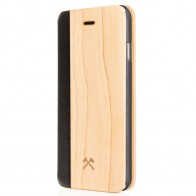Woodcessories - EcoCase FlipCover iPhone 5/5S/SE Maple 01