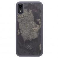 Woodcessories EcoCase Stone iPhone XR Grijs 01