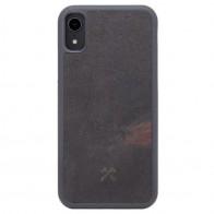 Woodcessories EcoCase Stone iPhone XR Zwart 01