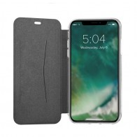 Xqisit -lap Cover Adour Apple iPhone XS Max Zwart 01