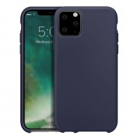 Xqisit Silicon Case iPhone 11 Pro Max Blauw - 1