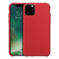 Xqisit Silicon Case iPhone 11 Pro Max Rood - 1