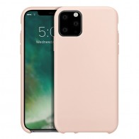 Xqisit Silicon Case iPhone 11 Pro Max Roze - 1