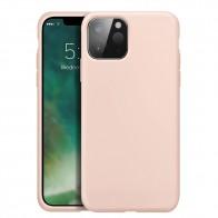 Xqisit Silicone Case iPhone 12 - 12 PRO 6.1 inch Roze 01