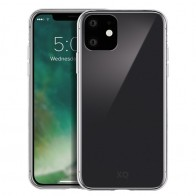 Xqisit Phantom Glass iPhone 11 Hoesje Transparant - 1