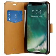 Xqisit Slim Wallet Selection iPhone XS Max zwart 01