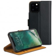 Xqisit Slim Wallet Case iPhone 11 Pro Max Zwart - 1