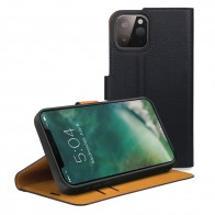 Xqisit Slim Wallet Selection iPhone 12 / 12 Pro 6.1 Zwart - 1
