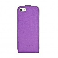 Xqisit Flipcover iPhone 5 Purple - 1
