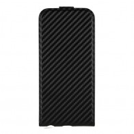 Xqisit FlipCover iPhone 6 Plus Carbon - 1