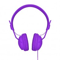 Xqisit HS Over-Ear Headset Purple - 1