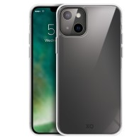 Xqisit Phantom Glass Case iPhone 13 Mini Clear 01