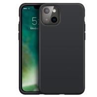 Xqisit Silicone Case iPhone iPhone 13 Mini Zwart 01