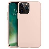 Xqisit Silicone Case iPhone iPhone 13 Pro Roze 01