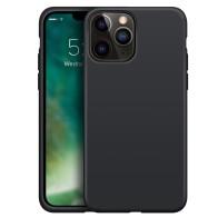 Xqisit Silicone Case iPhone iPhone 13 Pro Zwart 01