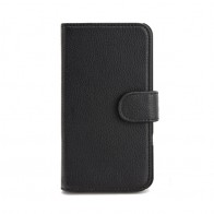 Xqisit Slim Wallet Case iPhone 5C Black