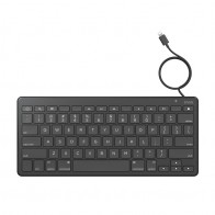 ZAGG Wired Lightning Keyboard Zwart - 1