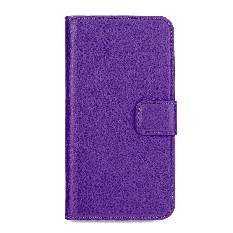 Xqisit - Slim Wallet Case iPhone SE / 5S / 5 Purple 02